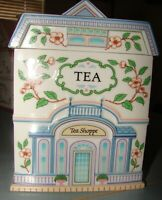 1990 THE LENOX VILLAGE TEA CANISTER