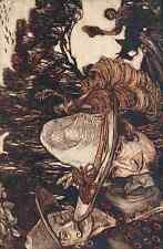 A4 Foto los cuentos de hadas de los hermanos Grimm 1909 4 impreso Poster