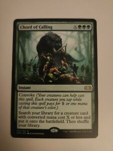 Mtg CHORD OF CALLING (double masters)
