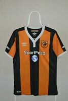 RARE SHIRT HULL CITY UMBRO 2016/17 HOME  JERSEY SIZE S