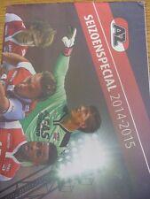2014/2015 AZ Alkmaar: Season Special, Newspaper/Handbook Style Issue Previewing