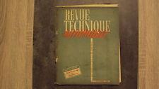 RTA Revue Technique Tracteur Sift (boîte Ford) - Sept 1952