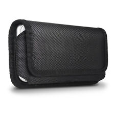 Nylon Waist Bag Belt Clip Loops Holster Pouch Sleeve Carrying Wallet Case Cover