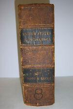 1849 DISPENSATORY OF USA George Wood & Franklin Bache. Pre-Civil War. 8th Edn..