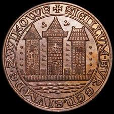 ZWICKAU / SACHSEN: Medaille 1968. 850 JAHRE ZWICKAU - STADTSIEGEL.