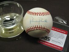 HALL OF FAME AMERICAN LEGEND ROBIN ROBERTS SIGNED RAWLINGS NL LEATHER BALL