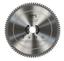 TCT Circular Saw Disc Blade For Aluminium Cutting. 250mm. 80T.