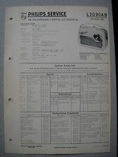 Philips L3D90AB Georgette 390 Kofferradio Service  Manual Ausgabe 03/59