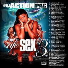 ACTION PAC- SAFE SEX CLASSICS PT. 3 (MIX CD) 90'S SLOW JAMS