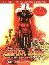 Shaka Zulu (DVD, 2003, 5-Disc Set) Christopher Lee, Trevor Howard, Edward Fox