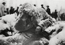 Frozen Soviet Russian Soldier Finland 1940 World War 2, Reprint 6x4 inch