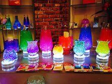 LED LIGHT BASE WITH 15 WHITE LIGHTS VASE UP LIGHTER WEDDING TABLE CENTREPIECE