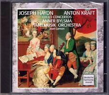 Anner BYLSMA: HAYDN & Anton KRAFT Cello Concerto 1 2 TAFELMUSIK Jeanne Lamon CD