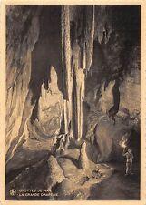 BR55136 La grande Draperie Grottes de han belgium