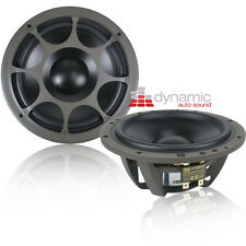 "Morel HYBRID MW6 6-1/2"" Car Audio Hybrid Series Mid-Bass Woofers 600W Pair New"