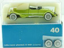 Rio 40 Rolls Royce Phantom II 1931 scoperta verde claro 1/43 MIB OVP sg 1411-23-37