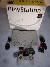 Console PS1 en Boite SCPH-5502 Fonctionnel Playstation Sony .