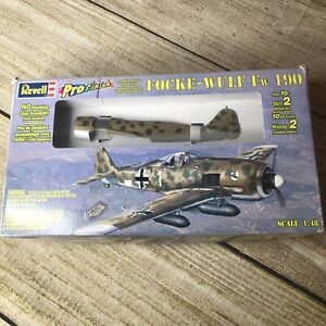 Revell Focke-Wulf Fw 190 Pro Finish 1:48 FS New Sealed Model Kit Airplane