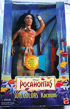 Barbie Disney Mattel Colletor Doll COCOUM a. Ken Pocahontas Sammlung NRFB
