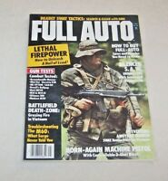 FIRST ISSUE OF FULL AUTO MAGAZINE 1984 VOL 1 No. 1 GOOD CONDITION SWAT TACTICS
