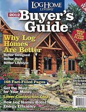 Log Cabin Living magazine Buyers guide Floor plans Energy Home design building