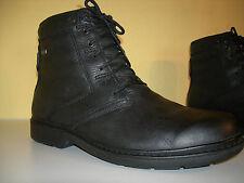 Clarks Gore-Tex zapatos caballero botines cuero negro Gr. 46 (11) lp160 € Top