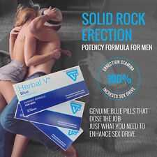 10 x 100mg Blue Sex Tablets For Men Get HARD Fast Postage GUARANTEED TO WORK! UK