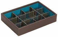 Stacker Men's Brown 11 Sectioned Mini Jewellery Box
