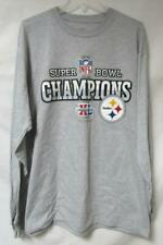 Pittsburgh Steelers Mens Size Large Super Bowl XL Champions T-Shirt A1 1953