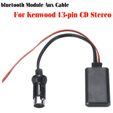 Bluetooth Module Connector Audio Cable Adapter For All Kenwood 13-pin CD Stereo