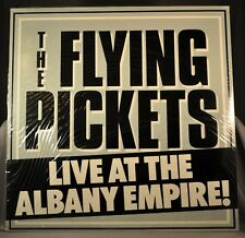 "Flying PICKETS Live at Albany Orig.1982 12"" UK VINYL Record Sealed AVM LP 0001"