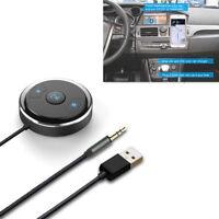 1x Auto SUV 3,5 mm AUX Bluetooth Adapter Freisprecheinrichtung mit LED-Anzeige