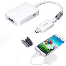 Micro USB MHL To HDMI HDTV Adapter Cable for Samsung Galaxy S3 S4 S5 Note