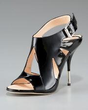 Giuseppe Zanotti Cutout Stiletto Slingback Sandals Shoes Size 39,5