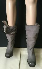 Winter boots with real fur VIC MATIE Women, gray color, size 40  Stivali Donna