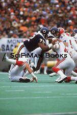 NFL William Refrigerator Perry Chicago Bears 1980s Original 35mm Slide Football!