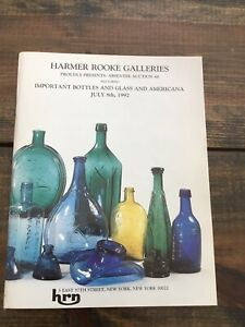 Harmer Rooke Galleries Important Bottles And Glass And Americana 1992