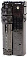 IMCO Classic Stylish Design Oil Lighter Super 6700P Black Nickel Brass Cool Rare