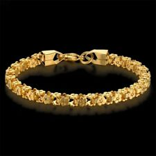 New 18k Gold Plated Bracelets - Luxury Gold Stainless Steel Chain Women Bracelet