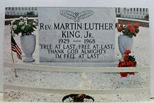 Georgia GA Atlanta Dr Martin Luther King Jr Memorial Postcard Old Vintage Card