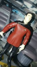 "star trek next generation DATA RED FORMAL UNIFORM custom action figure ""NO BOX"""