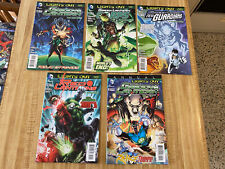 Green Lantern Corps New Guardians Red Lanterns Lights Out Part 1 - Part 5 (2013)