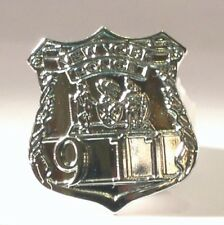 Metal Enamel Pin Badge Brooch NYPD Police New York Police Department Warrant