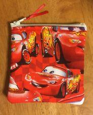 Disney Lightning McQueen Cars Handmade Fidget Spinner Case Coin Purse CC Wallet