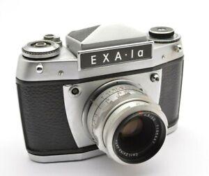 Exakta Exa Ia 1 A Analog Spiegelreflex, Carl Zeiss Jena Tessar 2,8 / 50 mm u56