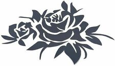 WINTAM Car Decal Stickers Romantic Rose Vinyl Graphics Hood Body Decals for Cars