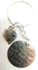 No Longer By My Side But Forever In My Heart Memorial Dog/Cat Keyring Gift Bag