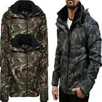 Superdry Mens Arctic Windcheater Full Zip Jacket Fleece Lining Hoodie Jackets