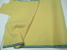 Antique French Millinery Velvet Fabric Cotton remnant yellow