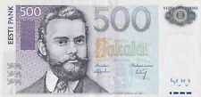 Estonia  500 Krooni 2007   ZZ Serie Replacement note RARE (B345)